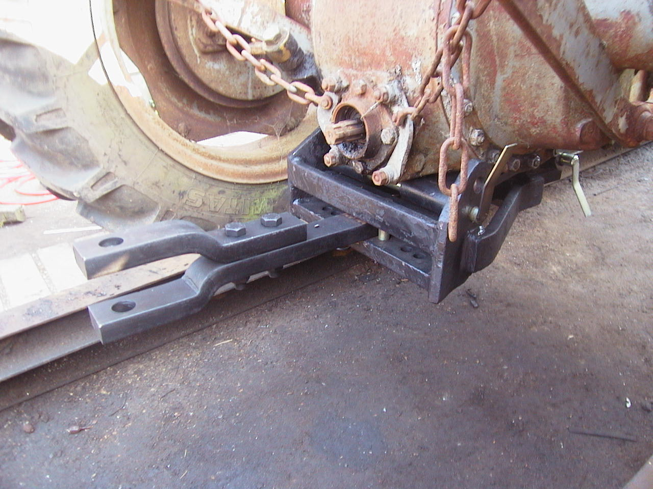 Massey Ferguson 65 Draw Bar : Ferguson te swinging drawbar hitch